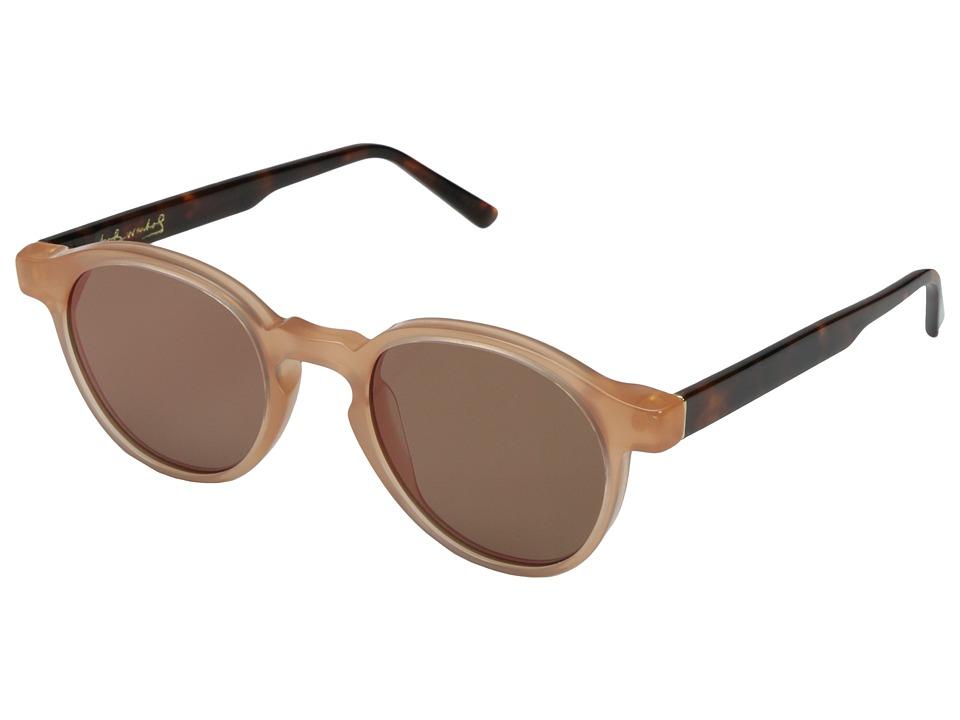 Super - The Iconic Series 49mm (Pink/Havana/Pink) Fashion Sunglasses