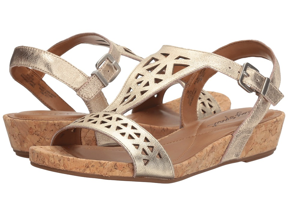 Easy Spirit - Nyleen (Gold Leather) Women's Shoes