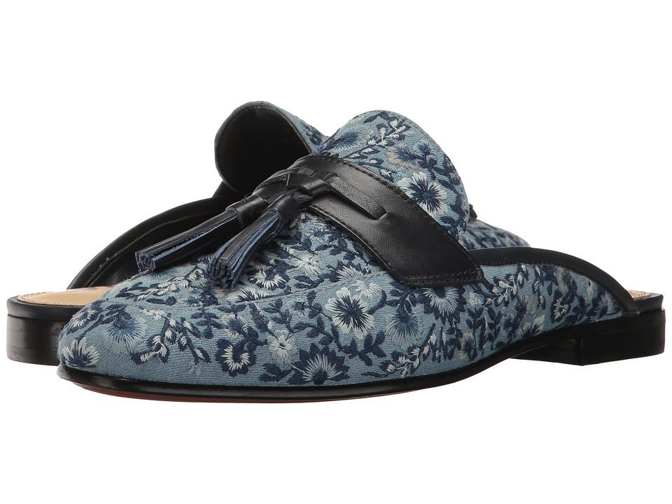 Sam Edelman - Paris 2 (Light Blue/Blue Multi/Inky Navy) Women's 1-2 inch heel Shoes