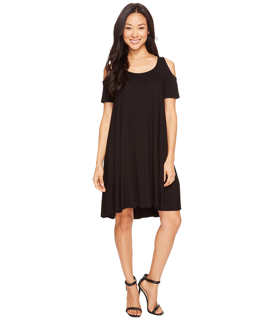 Karen Kane - Cold Shoulder Maggie (Black) Women's Dress