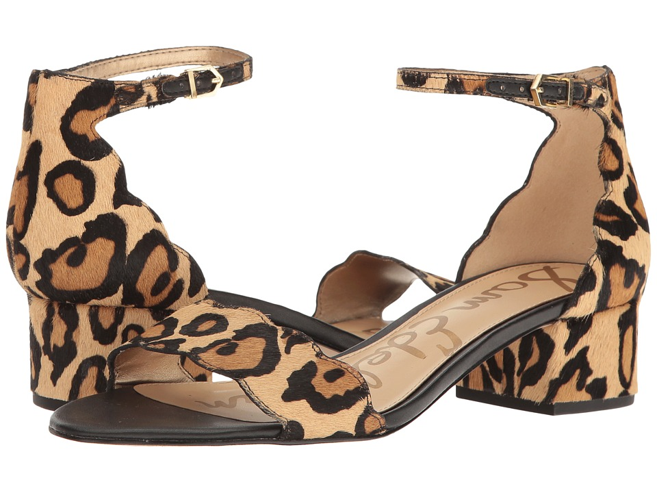 Sam Edelman - Inara (New Nude Leopard Leopard Brahma Hair) Women's Shoes