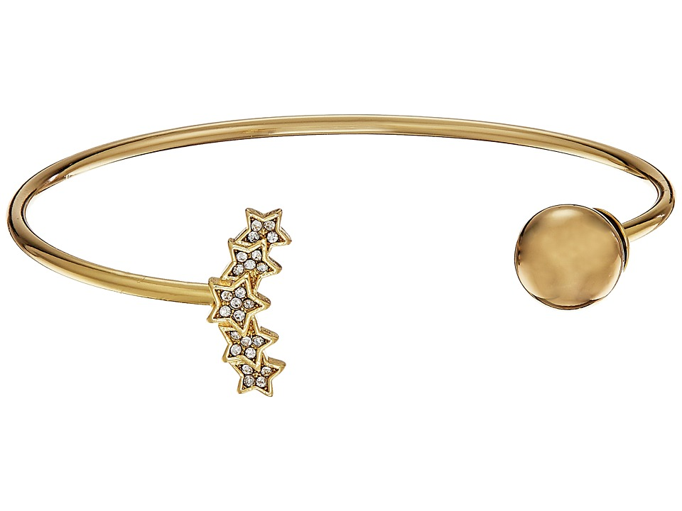 Rebecca Minkoff - Starry Night Baby Cuff Bracelet (Gold) Bracelet