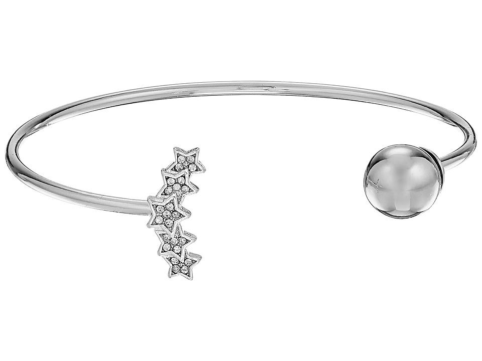 Rebecca Minkoff - Starry Night Baby Cuff Bracelet (Silver) Bracelet