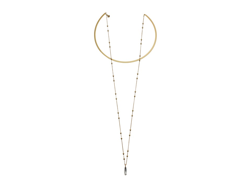 Rebecca Minkoff - Gemini Collar Necklace (Gold) Necklace
