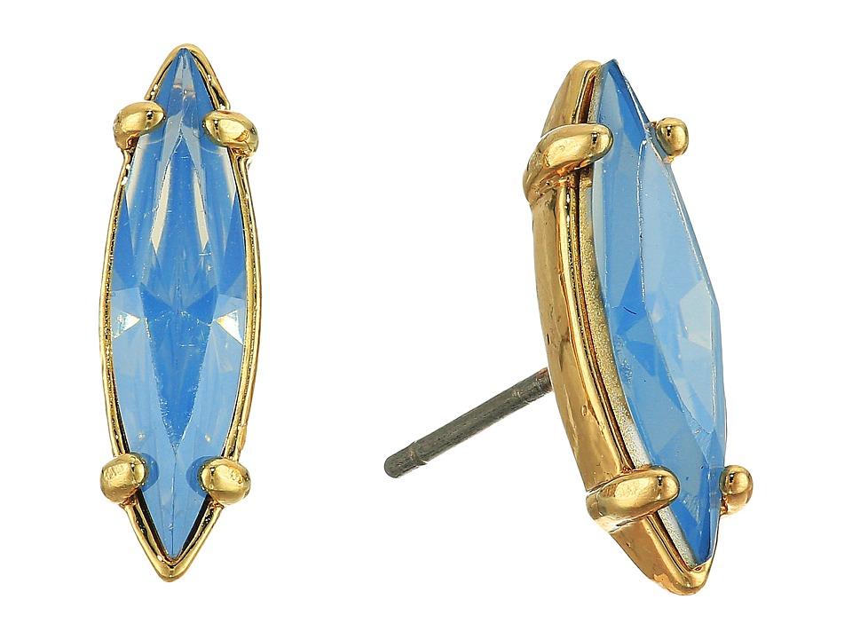 Rebecca Minkoff - Sparkler Stud Earrings (Gold/Opal) Earring