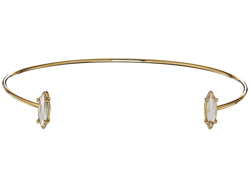 Rebecca Minkoff - Sparkler Choker Necklace (Gold/Crystal) Necklace