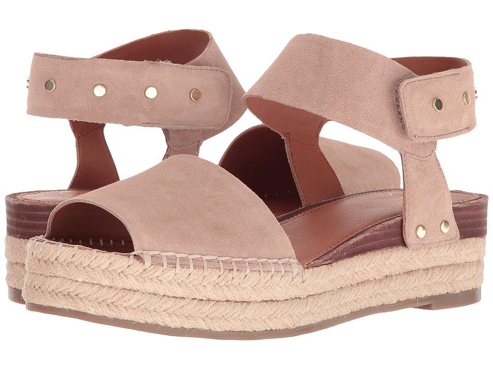 Franco Sarto - Oak 2 (Summer Beige Lux Brushed Suede) Women's Sandals