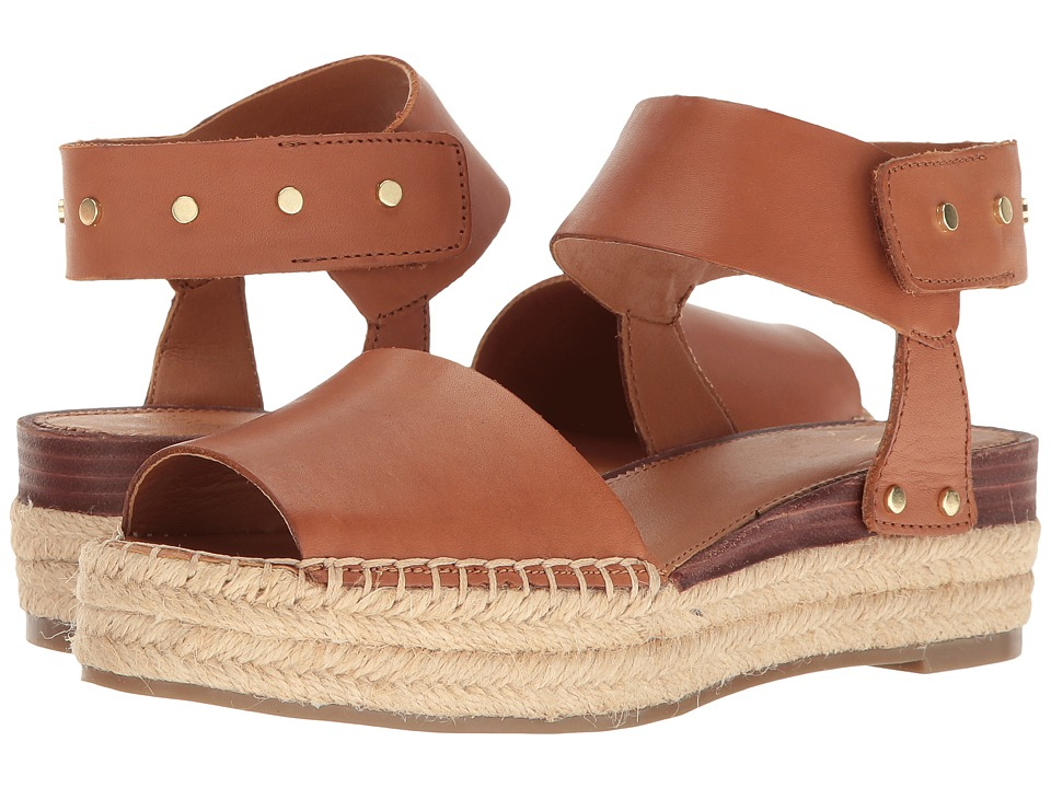Franco Sarto - Oak 2 (New Tan Vachetta Leather) Women's Sandals