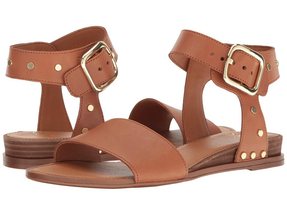 Franco Sarto - Park 2 (New Tan Vachetta Leather) Women's Sandals