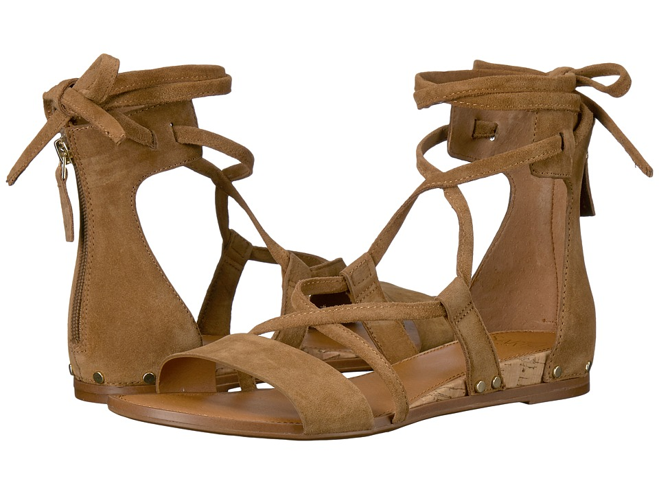 Franco Sarto - Primrose (Toasted Barley Lux Brushed Suede) Women's Sandals