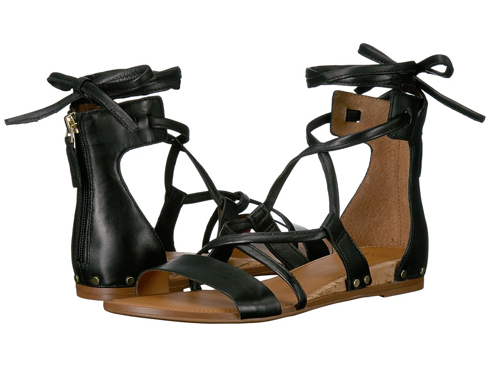 Franco Sarto - Primrose (Black Butter Nappa Leather) Women's Sandals