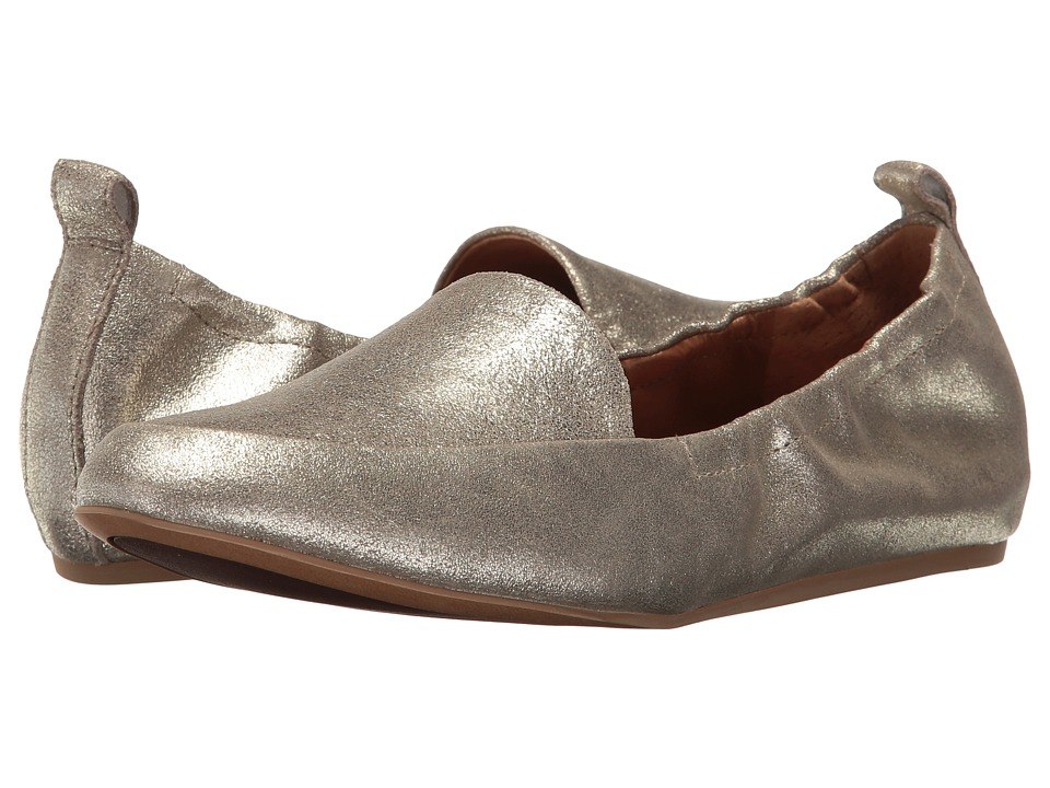 Franco Sarto - Stacey (Platino Stardust Leather) Women's Slip on Shoes