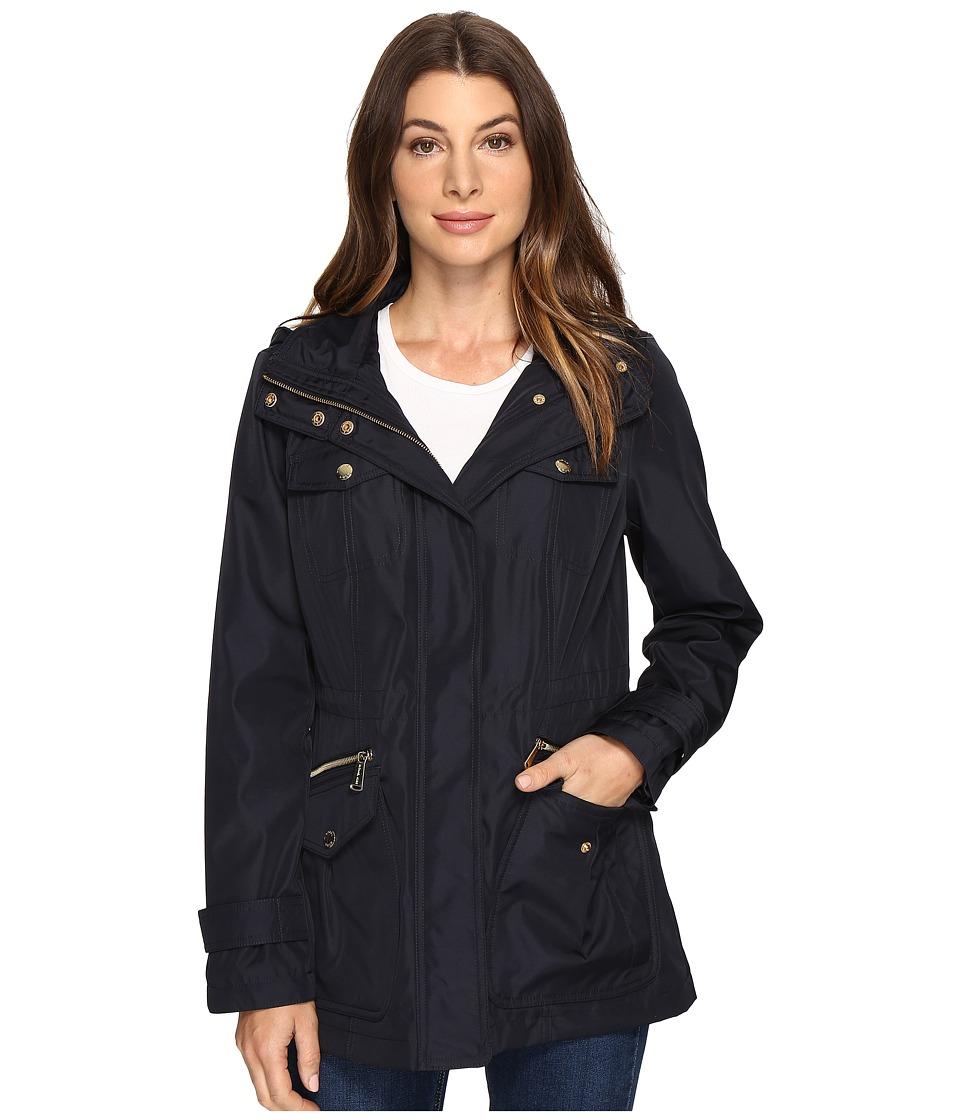 MICHAEL Michael Kors Four-Pocket Hooded Anorak M322149R74 (Navy) Women