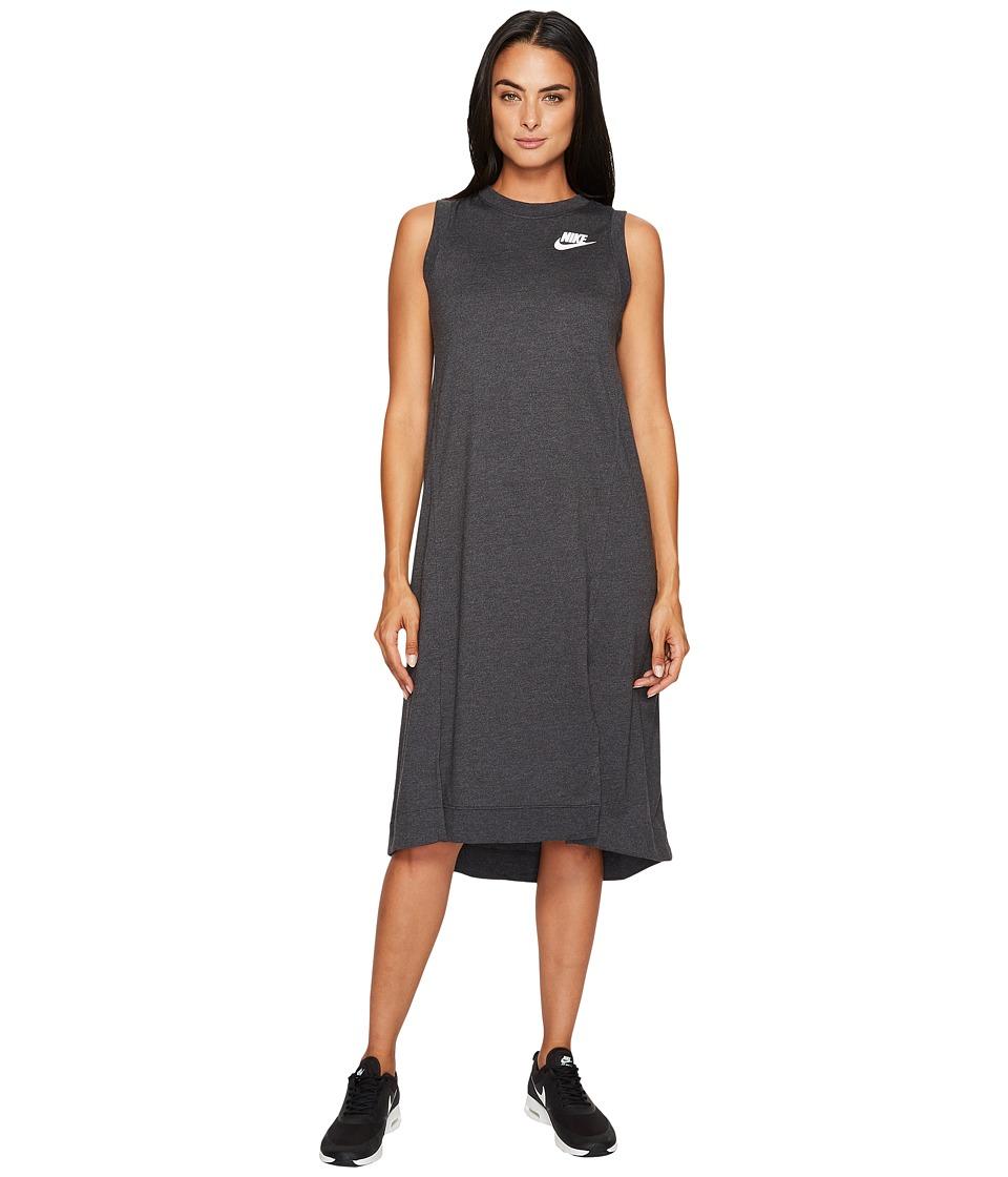 Nike Sportswear Gym Classic Dress (Black Heather/Sail) Women