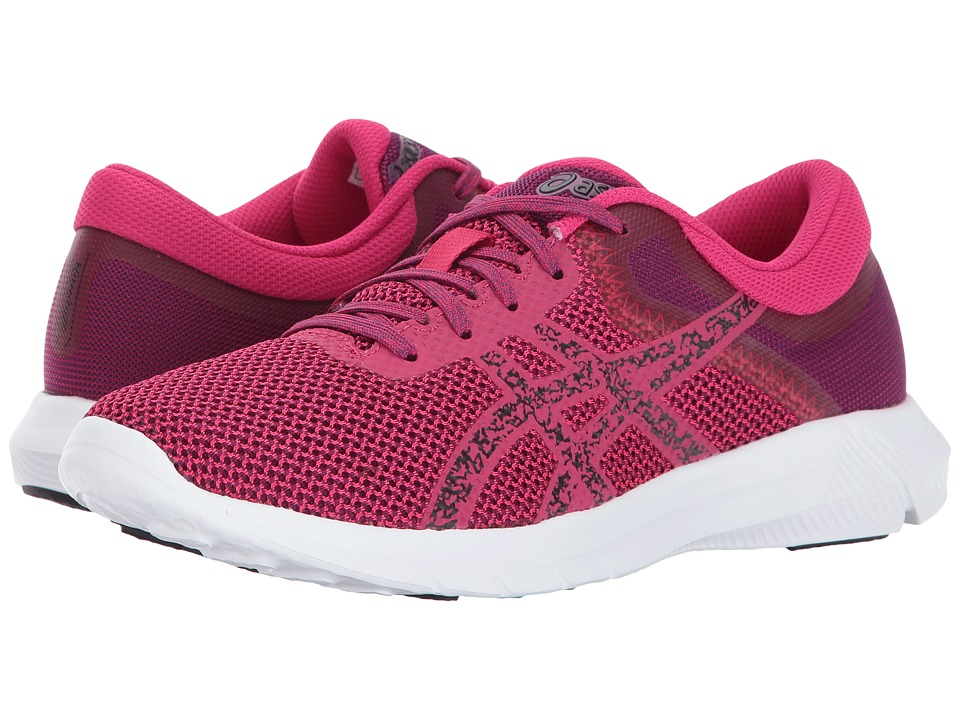 ASICS - Nitrofuze 2 (Cosmo Pink/Black/Prune) Women's Running Shoes
