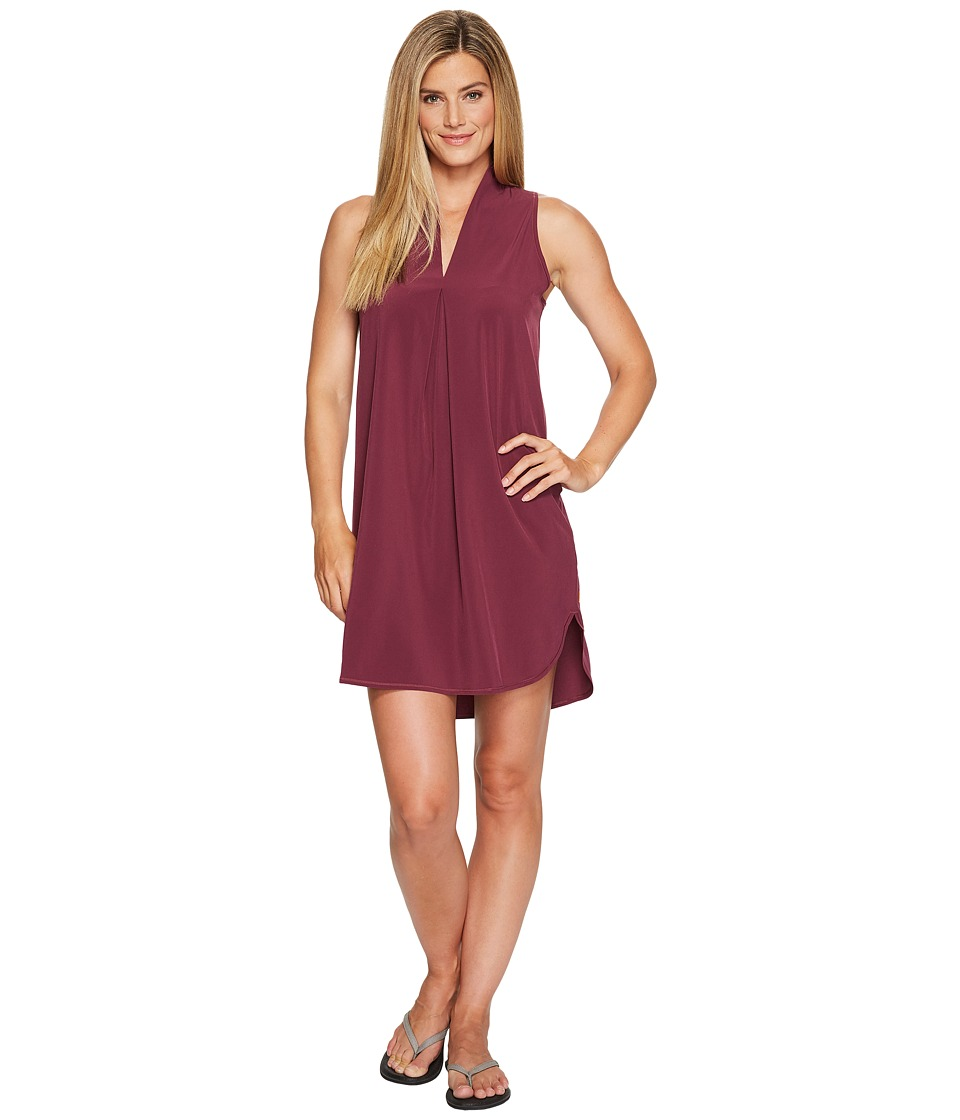 Lucy - Destination Anywhere Dress (Grape Wine) Women's Dress