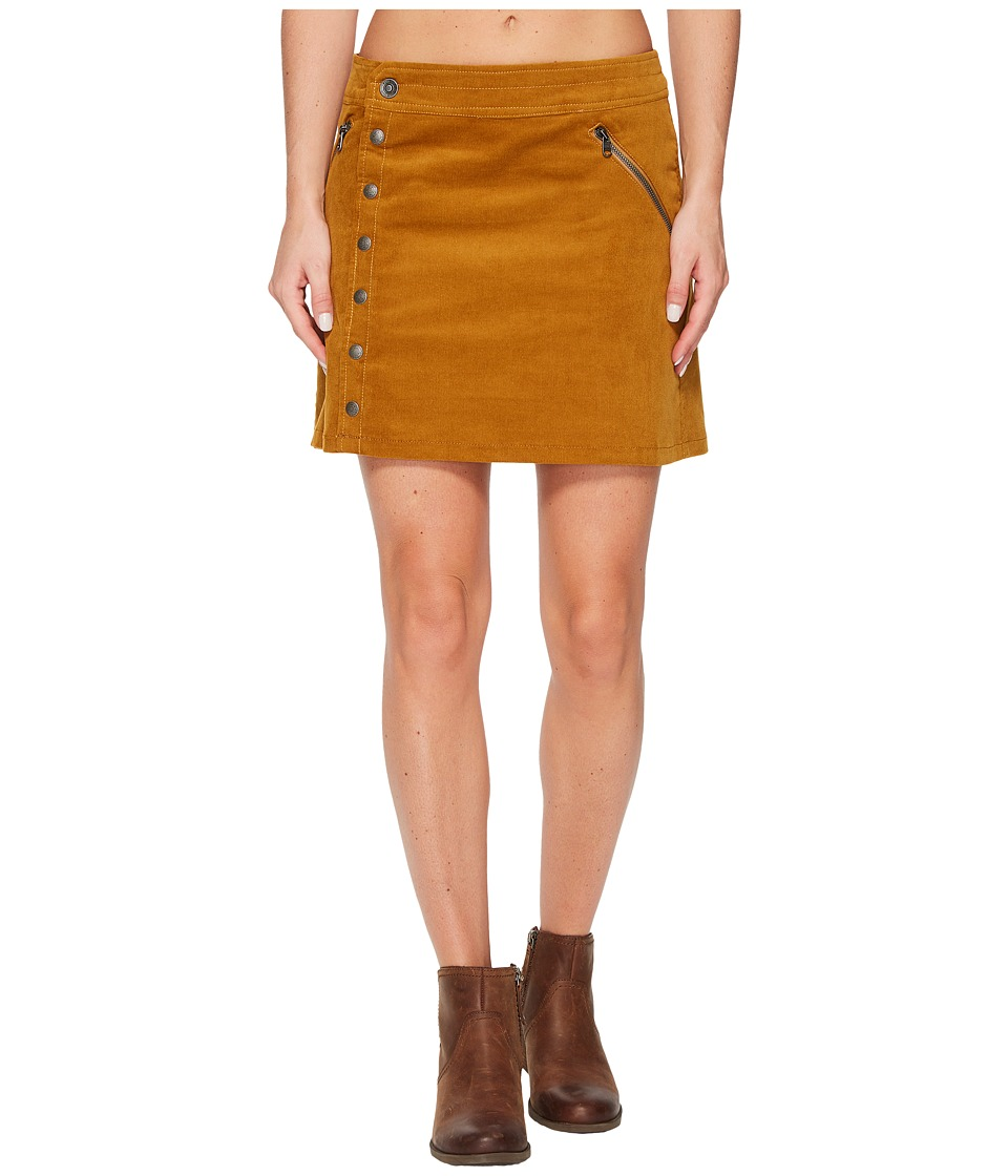 KUHL Streamline Skirt (Teak/Garnet) Women