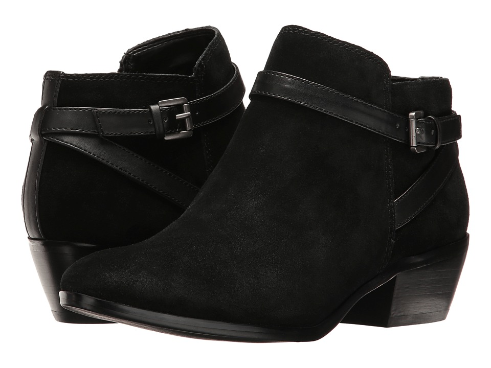 Sam Edelman Pirro (Black Suede/Leather) Women