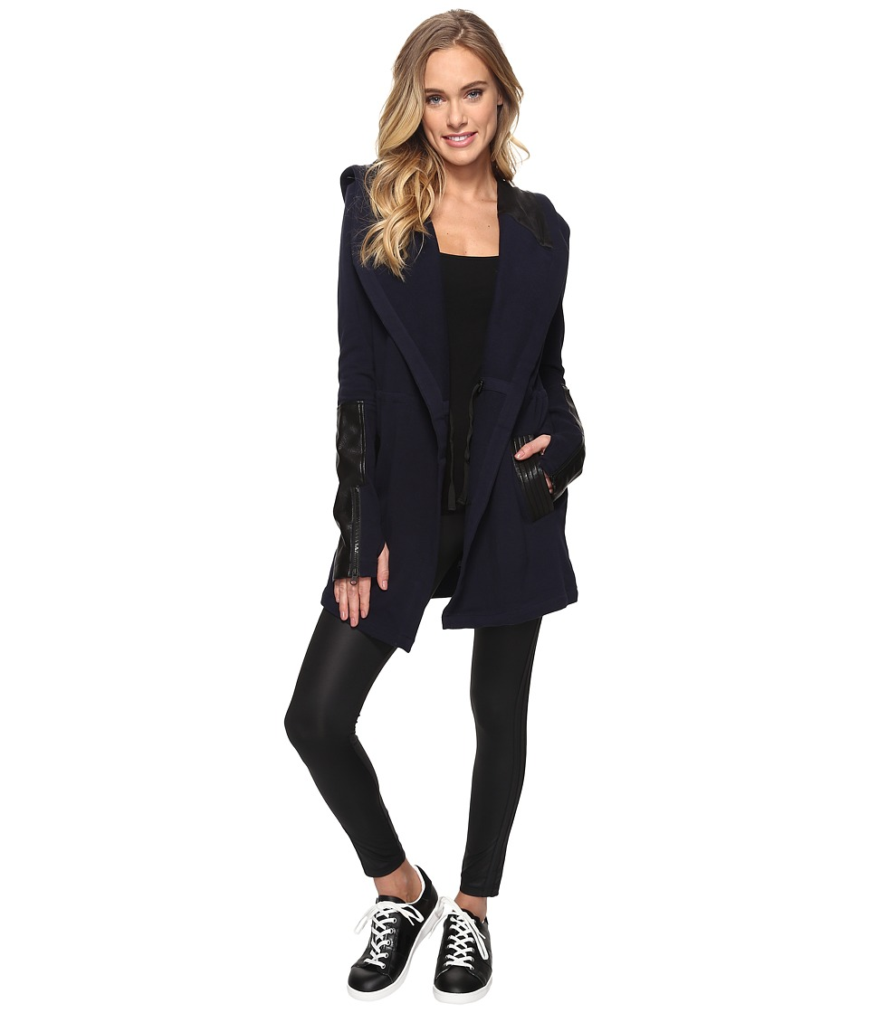 Blanc Noir - Traveler Jacket (Midnight) Women's Coat