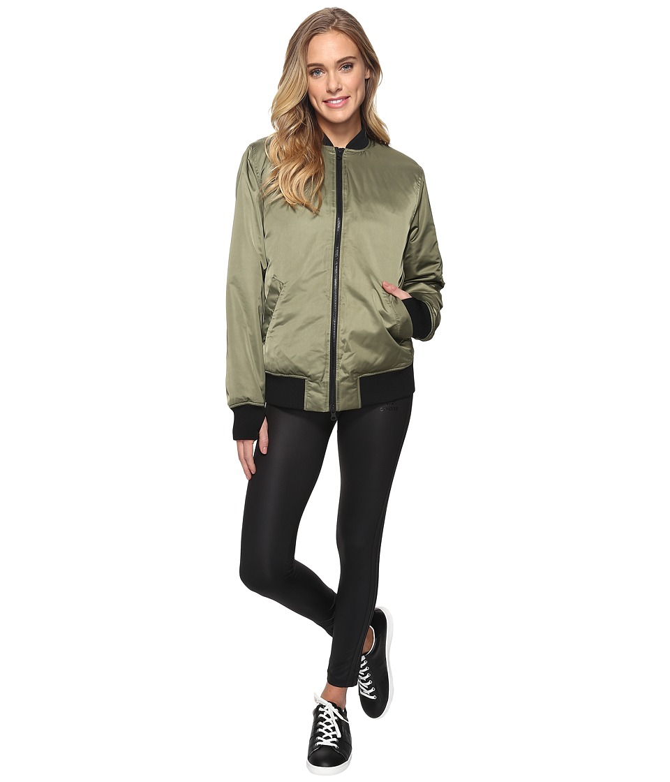 Blanc Noir - Ex-Boyfriend Bomber Jacket (Army Green) Women's Coat