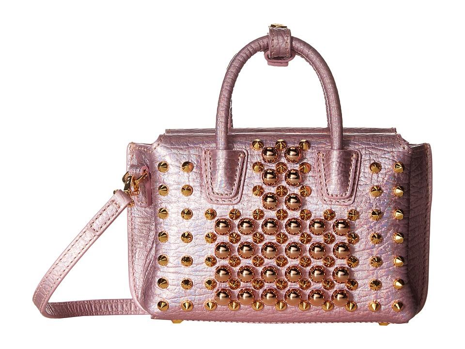 MCM - Milla Pearl Studs X Mini Tote (Prism Pink) Tote Handbags