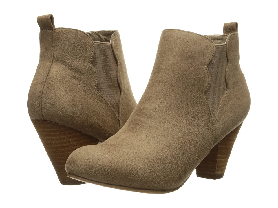 XOXO - Annabella (Taupe) Women's Shoes