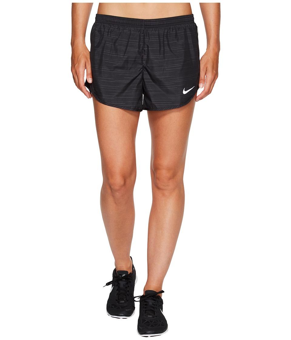 Nike - Modern Tempo 3 Printed Running Short (Black/Black) Women's Shorts