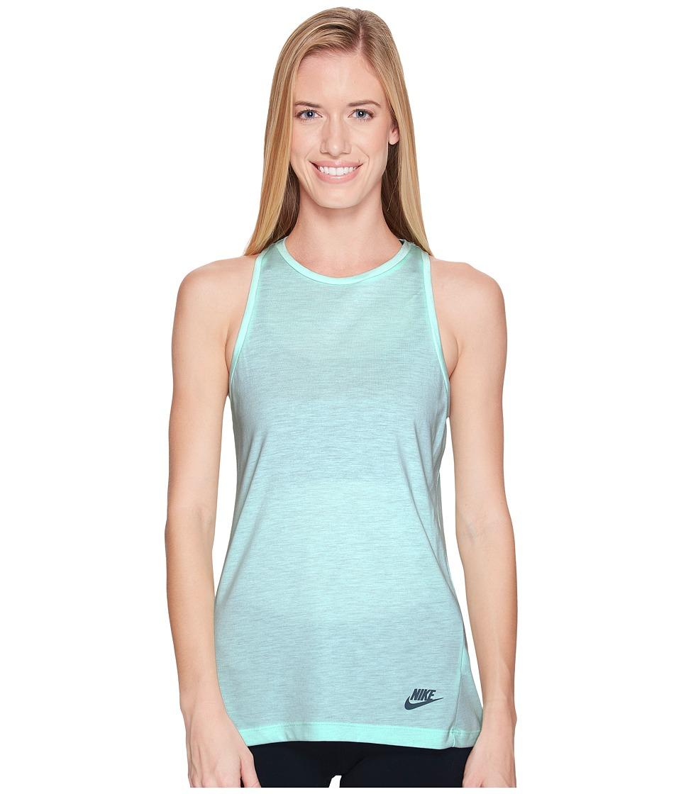 Nike Sportswear Essential Tank Top (Mint Foam/Mint Foam/Iced Jade) Women