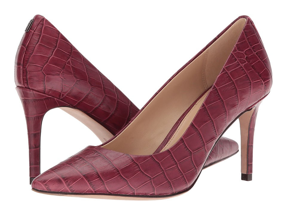 COACH Smith (Burgundy Classic Croco) Women