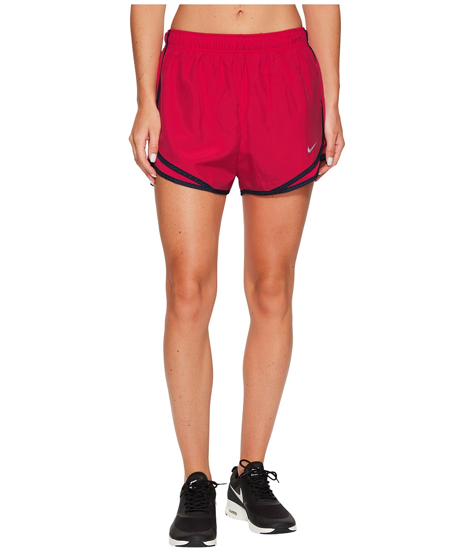 Nike Dry Tempo Short (Light Fusion Red/Black/Wolf Grey/Wolf Grey) Women