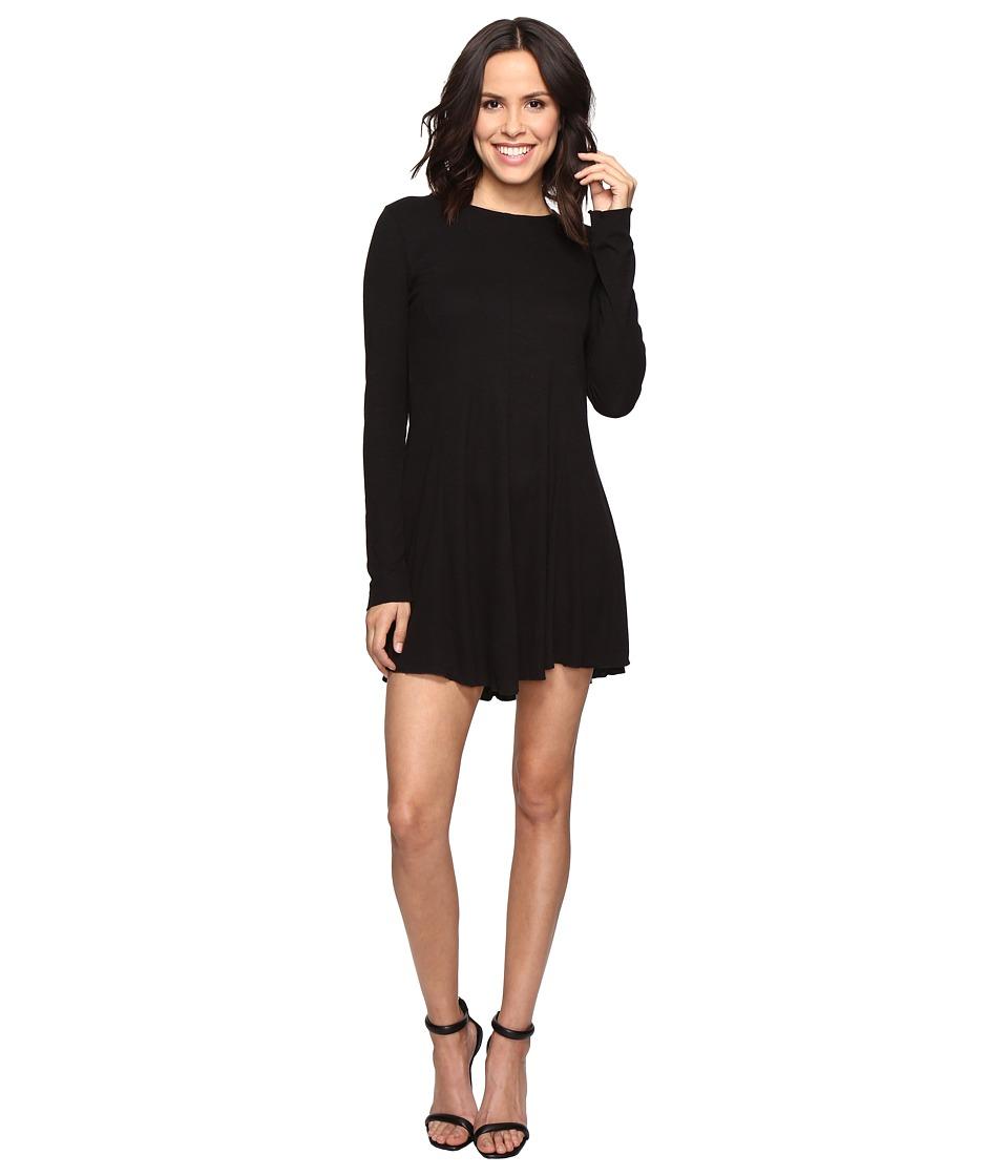Brigitte Bailey - Mithra Dress with Crisscross Back (Black) Women's Dress