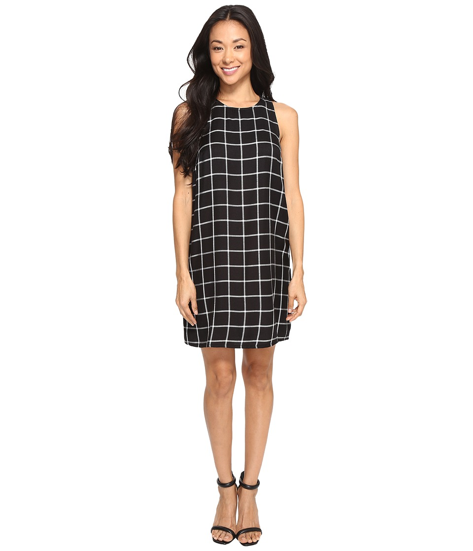Brigitte Bailey - Emporess Window Shift Dress (Black Combo) Women's Dress