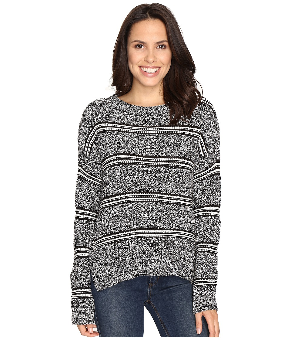 Brigitte Bailey - Marquis Striped Pullover Sweater (Black Combo) Women's Sweater