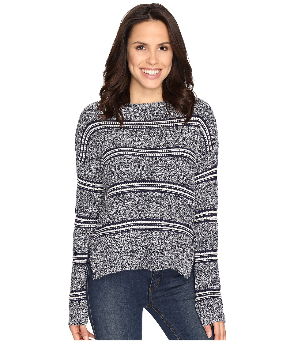 Brigitte Bailey - Marquis Striped Pullover Sweater (Navy Combo) Women's Sweater