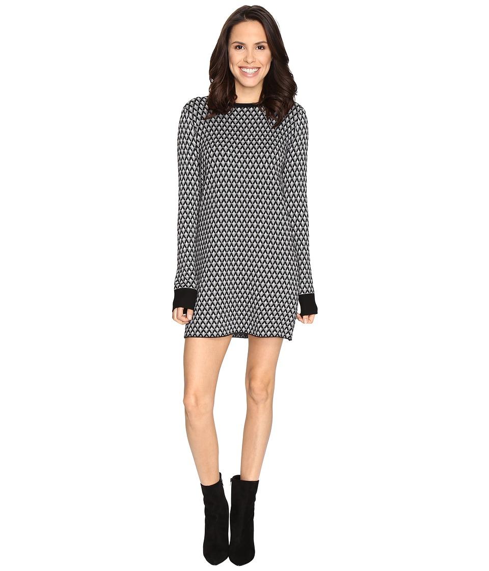 Brigitte Bailey - Viceroy Sweater Dress (Black Combo) Women's Dress