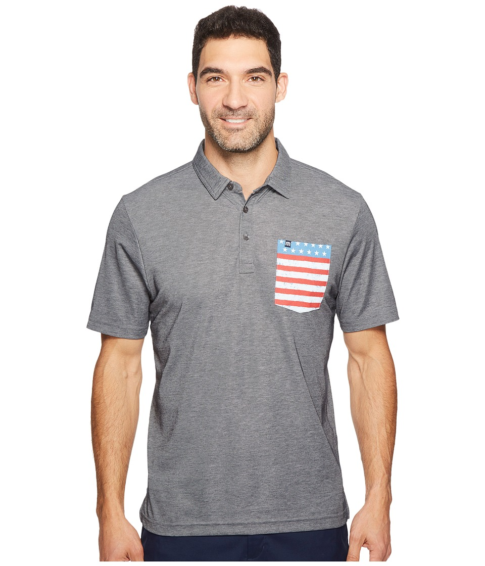 TravisMathew - Gibli (Heather Castlerock) Men's Clothing