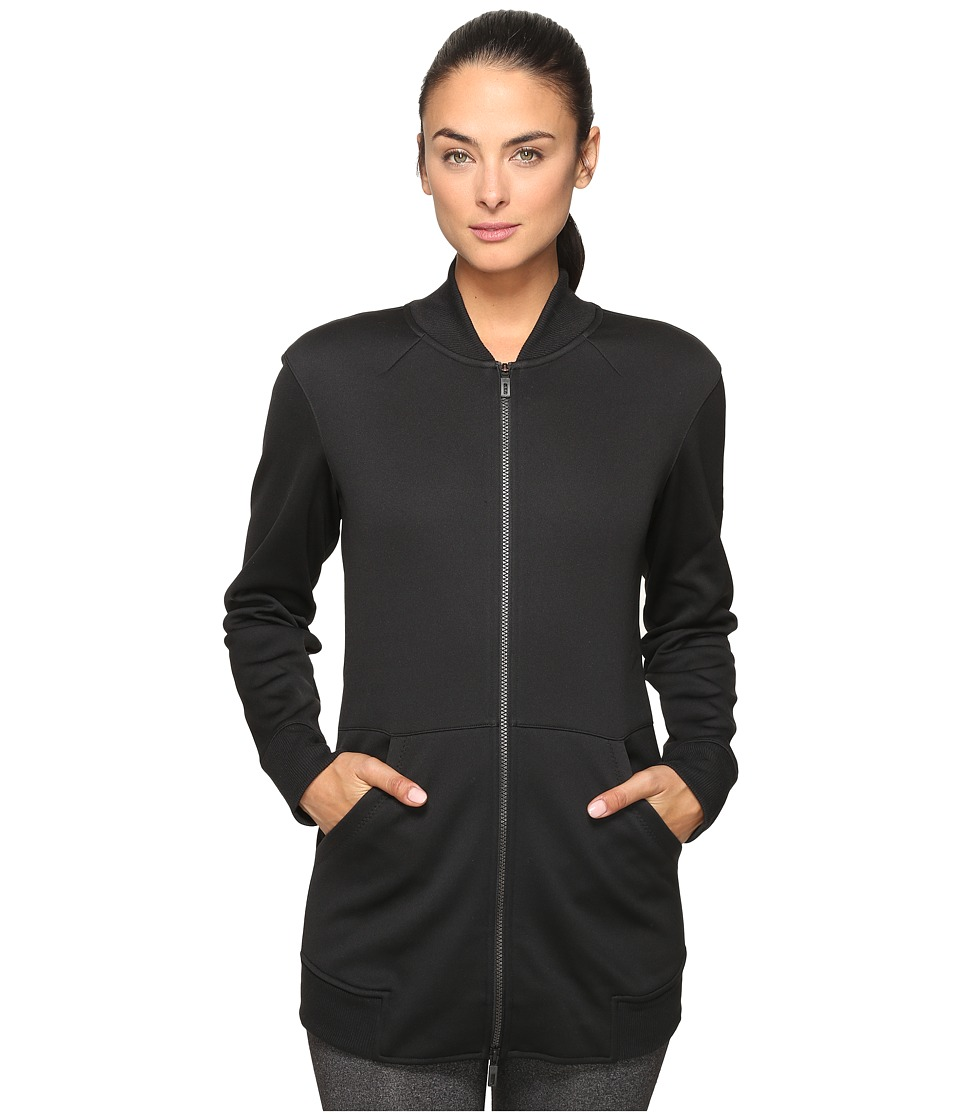 adidas - Long Jacket (Black) Women's Coat