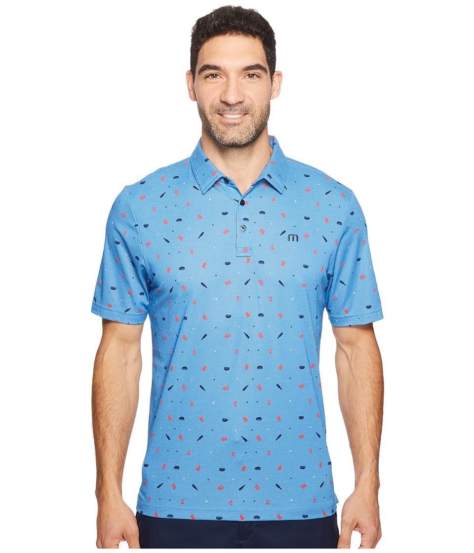 TravisMathew - Watson (Classic Blue/Dusk Blue) Men's Clothing