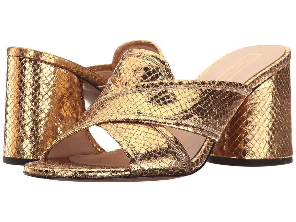 Marc Jacobs - Aurora Mule (Gold) Women's Clog/Mule Shoes