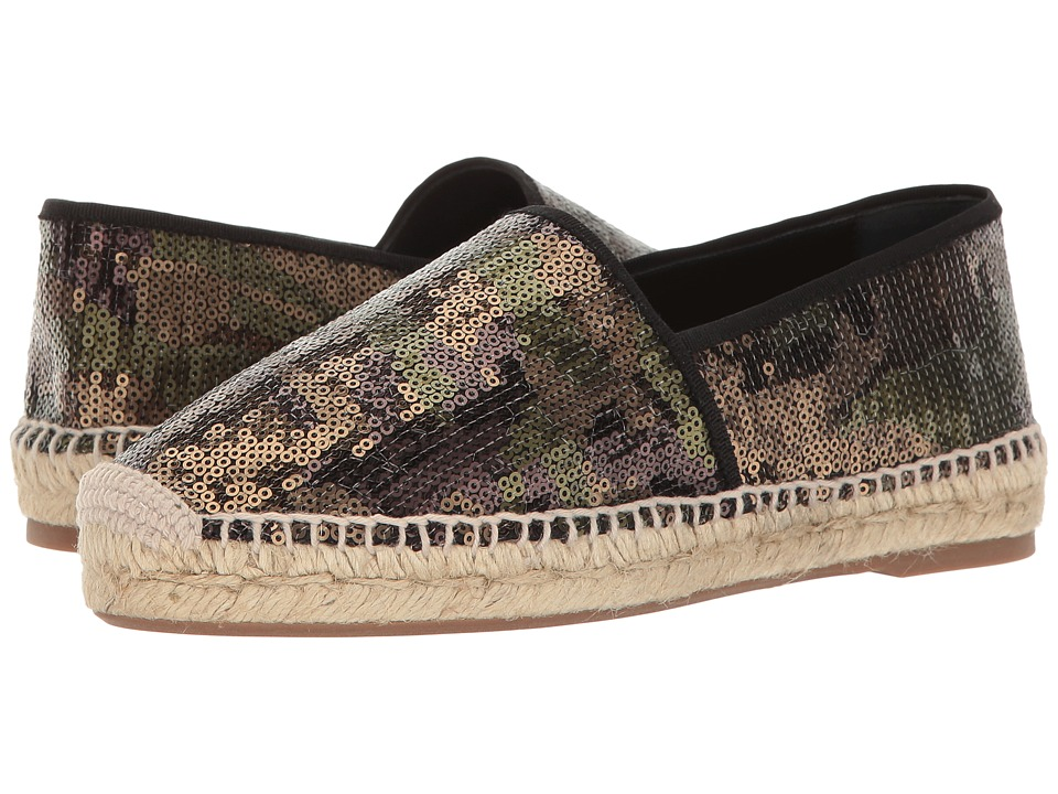 Marc Jacobs - Sienna Flat Espadrille (Khaki Multi) Women's Shoes