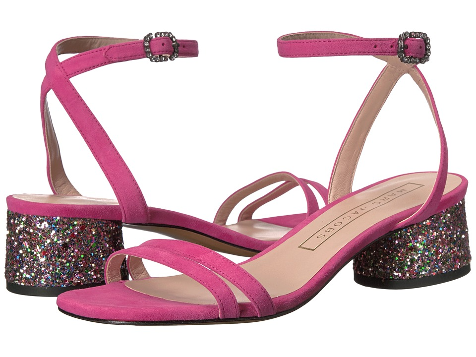 Marc Jacobs Olivia Strap Sandal (Fuchsia) Women