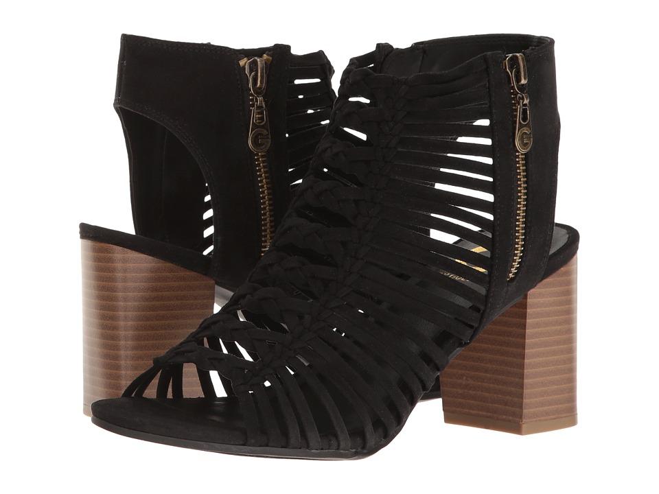 G by GUESS Aliver (Black Camoscio Suede) High Heels