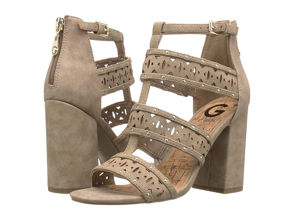 G by GUESS - Indeali (Sahara Sand Distressed Suede) High Heels