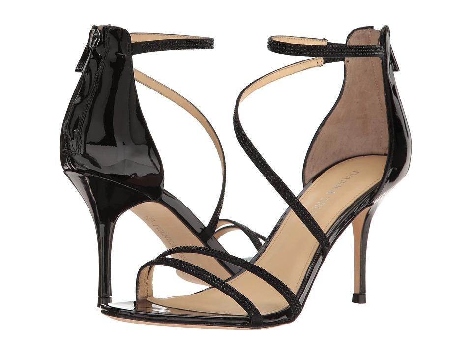 Ivanka Trump Genese 2 Black Multi Satin Shoes