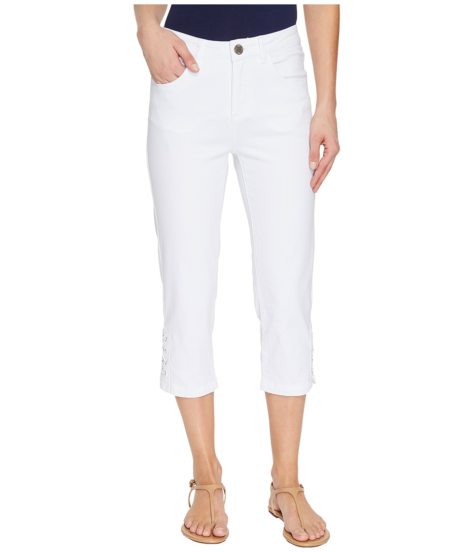 FDJ French Dressing Jeans Olivia Capris in White (White) Women