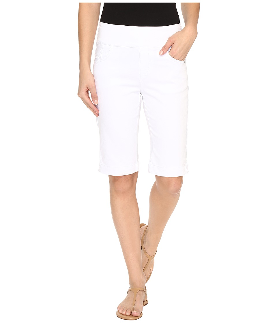 FDJ French Dressing Jeans - D-Lux Denim Pull-On Bermuda in White (White) Women's Shorts