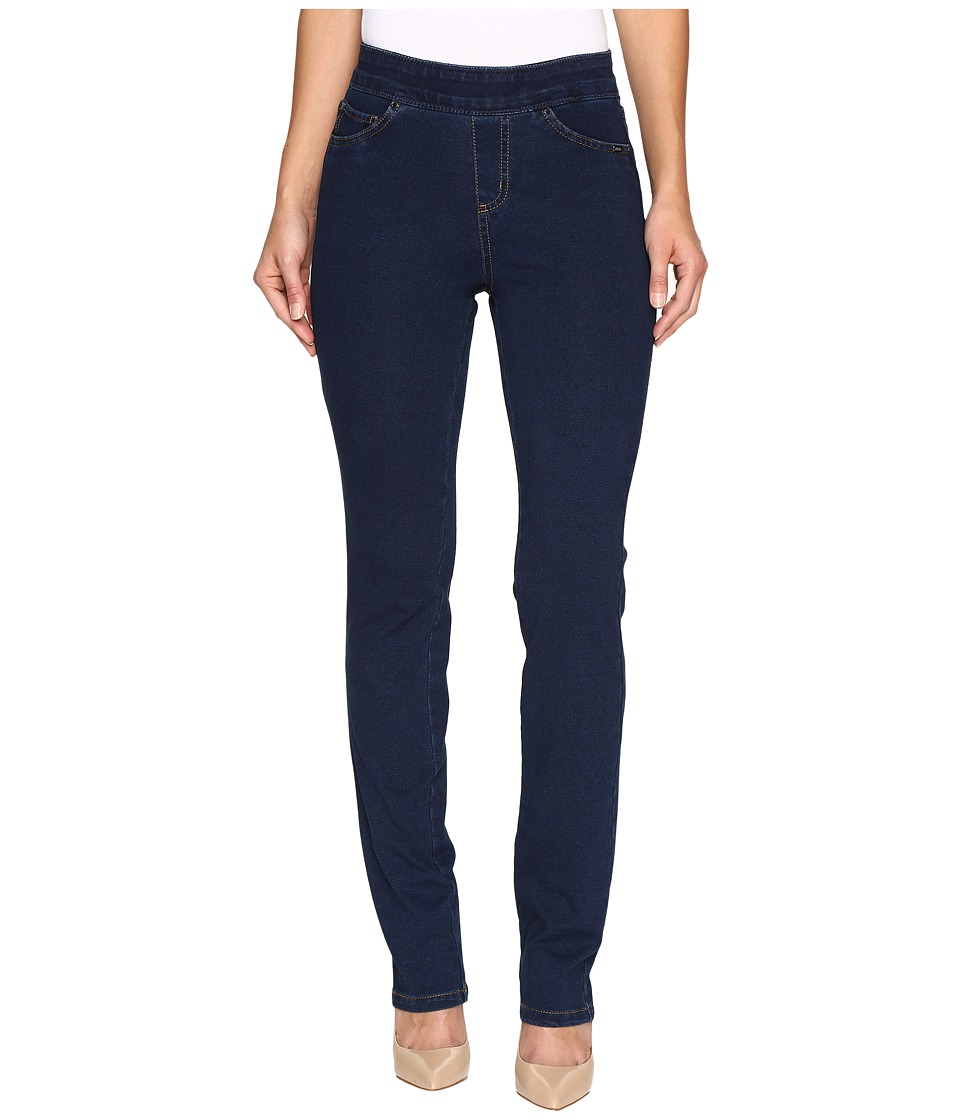 FDJ French Dressing Jeans - Comfy Denim Wonderwaist Pull-On Straight Leg in Indigo (Indigo) Women's Jeans