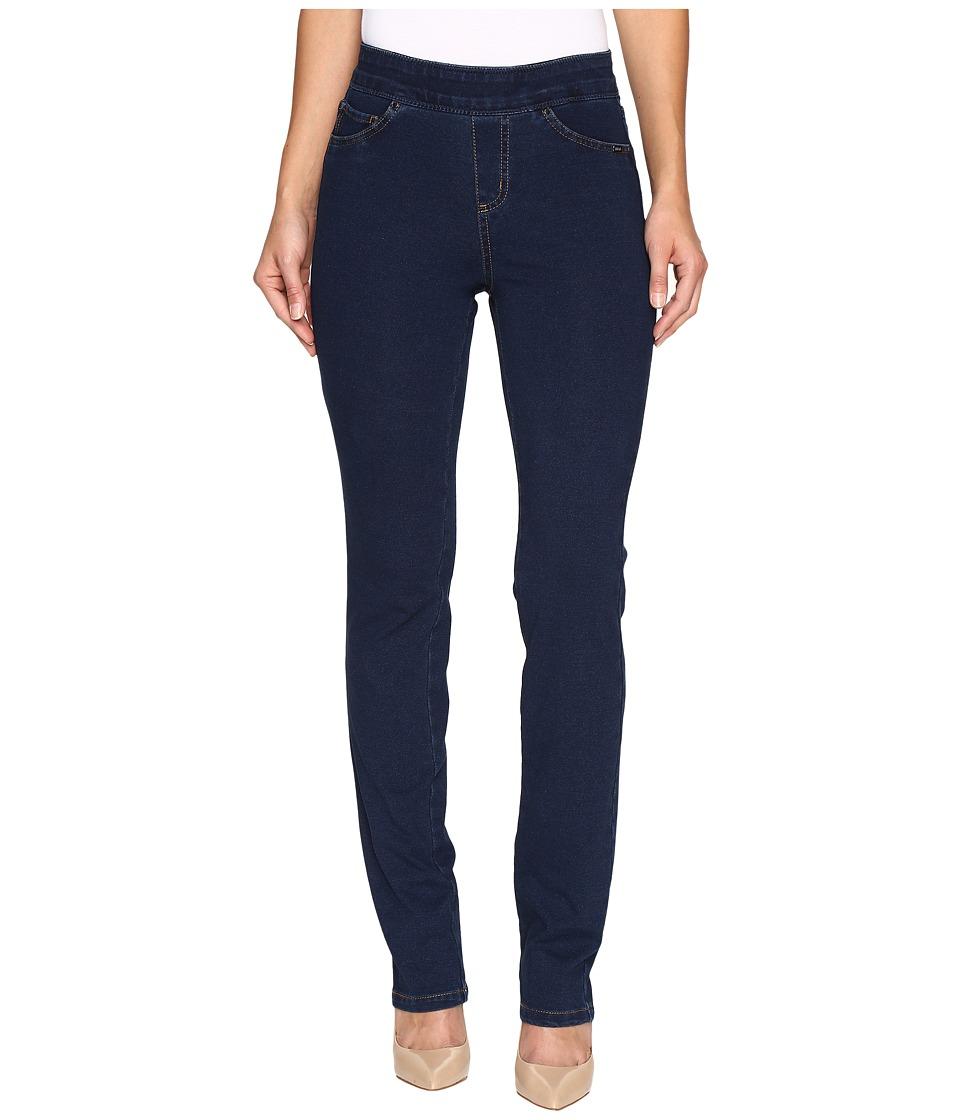 FDJ French Dressing Jeans - Comfy Denim Wonderwaist Pull-On Straight Leg in Indigo (Indigo) Women's Jeans