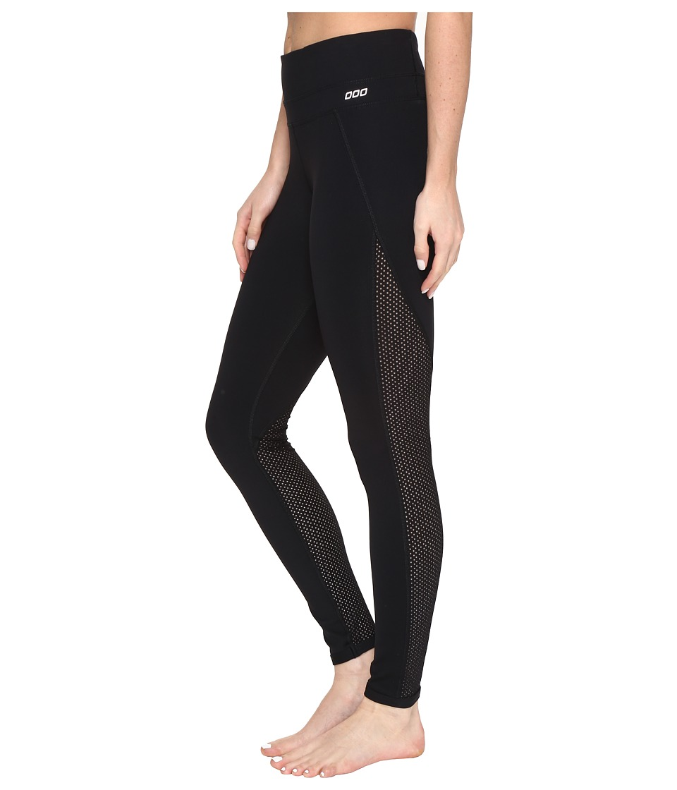 Lorna Jane - Jane Core F/L Tights (Black) Women's Casual Pants