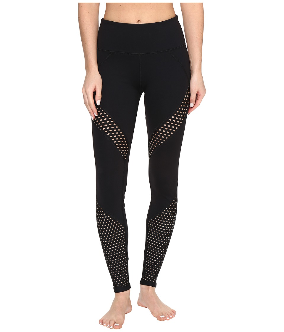 Lorna Jane - High Times Core F/L Tights (Black) Women's Casual Pants